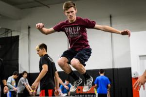 Thomas G lateral box jumps