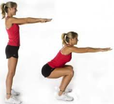 Athletic movements like squats can actually strengthen your joints. Properly performed squats contribute to knee and hip health.